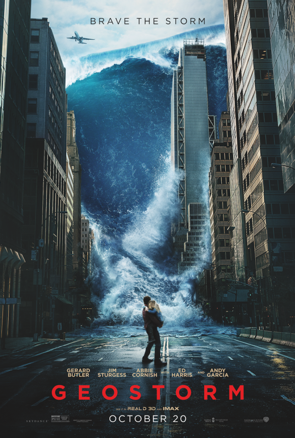 Geostorm pulled poster