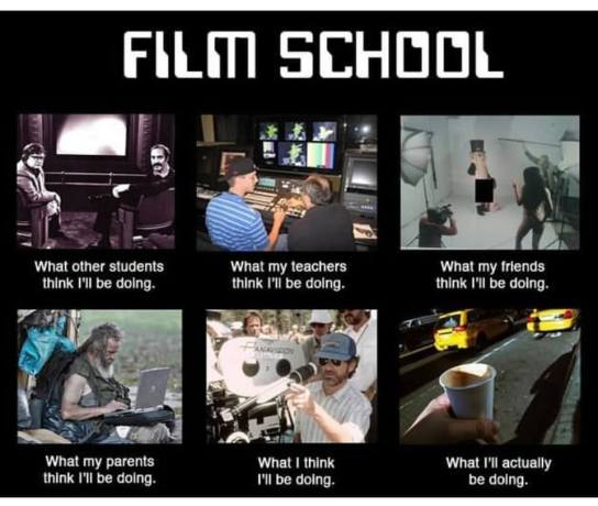 film school meme